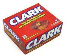 Clark Bar Candy Bar 24ct Milk Chocolate Peanut Butter Crunch FREE SHIPPING