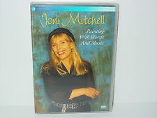"""*****DVD-JONI MITCHELL""""PAINTING WITH WORDS AND MUSIC""""-1998 EV Classics*****"""
