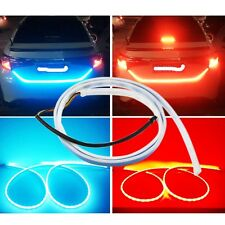 2017 Red & Blue Dynamic Turn Signal Brake LED Dual Color Modified Light Rear Box