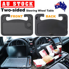 Car Steering Wheel Tray Table Laptop Stand Work Desk Holder Clip Mount AU
