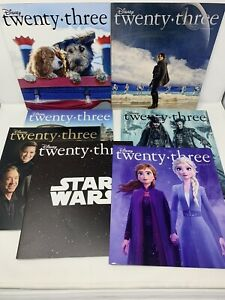 D23 Disney Club TWENTY-THREE Magazines Lot of 7