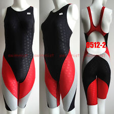 [NWT]NSA 0512-2 COMPETITION RACING SHARKSKIN KNEESKIN S US GIRLS 10-12 US MISS 2