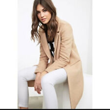 Forever New Wool Blend Coat Tan Size 10