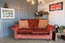 Duresta velvet fabric sofa RRP £3700