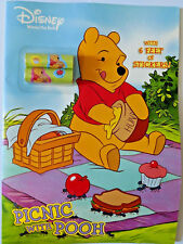 Disney Winnie the Pooh Coloring & Activity Book With Stickers