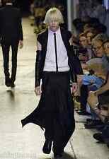 DIOR HOMME SS07 Runway Silk Silhouette Belt Buckle Wrap Skirt