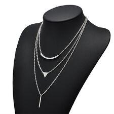 Women Chic Hot Choker Chunky Statement Bib Necklace Jewelry Charm ChainPendant