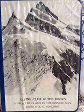Bernese Alps - Alpine Club Guide Book
