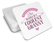 Granny Gift Birthday Coaster For Her Christmas Xmas Personalised Present Idea