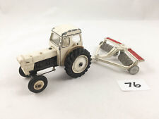 DINKY TOYS # 325 DAVID BROWN SELECTAMATIC 990 TRACTOR & DISC HARROW FARM DIECAST