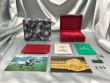 Genuine ROLEX empty Watch box 14.00.02 Booklet LinksGuarantee 0911001 A37