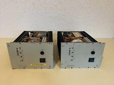 2x Siemens   Klein & Hummel A401 120 Watt Verstärker Endstufen   Rarität
