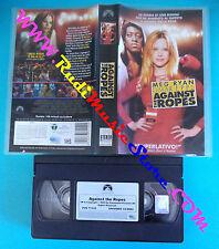 film VHS AGAINST THE ROPES Meg Ryan Epps 2004 PARAMOUNT PVS 71152 (F149) no dvd