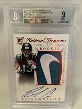 2015 National Treasures RASHAD GREENE RC Nike Logo RPA 1/2 BGS 9 Jaguars