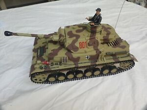 PANZER IV (DAK PZ.KPFW.IV) RC TANK (2) 1:16 SCALE  HENGLONG UPGRADED AND PAINTED