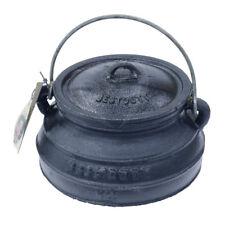 Best Duty #7049 Cast Iron Platpotjie Pot & Lid Size 1/2