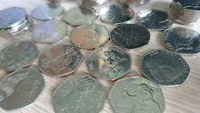 UK Rare 50p Coins Beatrix Potter, Paddington Bear - Collection, (Circulated)