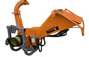 "Industrial Wood Chipper / PTO Driven / 3.5"" / 90mm Capacity / Wood Processor"