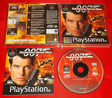 007 TOMORROW NEVER DIES Ps1 Versione Europea 1ª Edizione ○○ COMPLETO