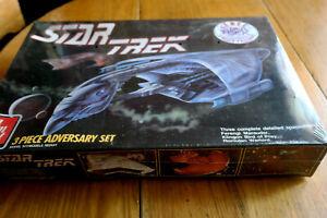 Star Trek AMT 3 Piece Adversary Set NIB