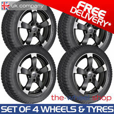 Transporter Summer 5 Car Wheels with Tyres