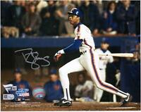 "Darryl Strawberry New York Mets Signed 8"" x 10"" 1986 World Series Hitting Photo"