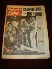 MELODY MAKER 1975 APR 26 CARPENTERS SLADE PINK FLOYD STATUS QUO PILOT QUEEN