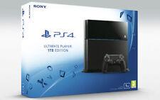 Consolas de videojuegos negro Sony PlayStation 4