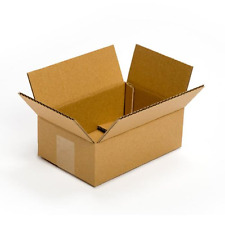 "Pratt PRA0022 Cardboard Boxes, 9"" Length x 6"" Width x 3"" Height, (Pack of 25)"