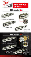 Action Army KJW / WE GBB Stainless Steel CNC HPA Adapter Nozzle Valve