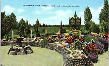 Bend, Oregon, Redmond, Petersen's Rock Garden - Postcard (BBB)