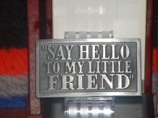 New Scarface Say Hello to My Little Friend Metal Belt Buckle