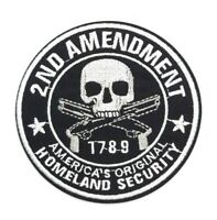 Homeland Security 2nd AMENDMENT Support OUTLAW BIKER PATCH IRON ON BADGE 113
