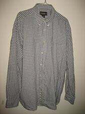 Eddie Bauer Plaid Cotton Button Down Collar Cotton LS Shirt XL EUC