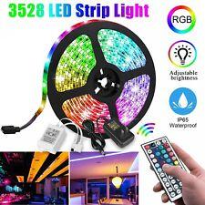 Led Strip Lights 16.4ft RGB Led Room Lights 3528 Led Tape Lights Color Changing