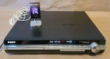 SONY DAV-HDX501W - 5 Disc DVD CD Changer Home Theater Receiver W/ DIR-TC1 TESTED