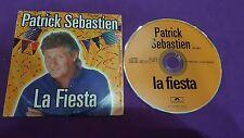 Patrick Sebastien la fiesta PolyGram Presss 1998 card sleeve cd usato