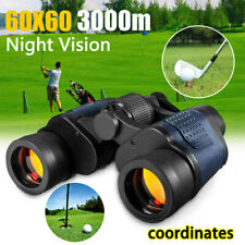 60x60 Zoom Day Night Vision Outdoor Travel HD Binoculars Hunting Telescope+Case