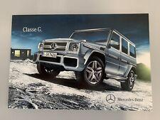 BROCHURE PROSPEKT CATALOGO MERCEDES CLASSE G 2013 FINAL EDITION 200 G63 G65 AMG