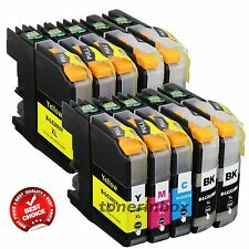 10pk LC203 LC-203 XL Ink Cartridge For Brother  MFC-J460dw J480dw J485dw LC201