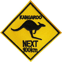 Kangaroo Patch Iron Sew On Australia Sign Embroidered Badge Embroidery Applique