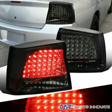 05-08 Dodge Charger Smoke Lens LED Parking Tail Lights Tinted Rear Brake Lamps
