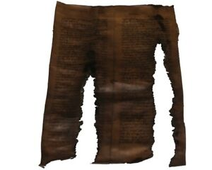 RARE TORAH BIBLE SCROLL DEER PARCHMENT MANUSCRIPT 400+ YEARS OLD FROM SPAIN
