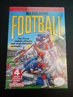 Nintendo NES Play Action Football Brand New Factory Sealed (Nintendo NES, 1990)