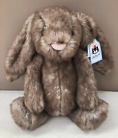 NEW Jellycat Medium Bashful Pecan Bunny Rabbit Soft Toy Comforter Baby BNWT