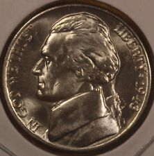 1943-D Silver War Jefferson Nickel Choice BU FULL STEPS BLAST WHITE!!