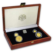 1994 Russia 4-Coin Gold Bolshoi Ballet Proof Set