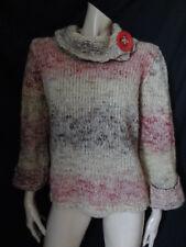 (MR18) Size 14 *PER UNA* Cosy pink-mix wool-rich ladies/womens