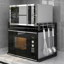 Adjustable 2 Tier Home Kitchen Rack Utility Microwave Oven Stand Storage US