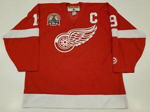 Steve Yzerman Vintage Detroit Red Wings Koho Jersey 2002 Cup